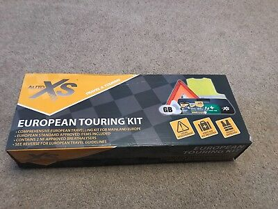European Travel Touring Kit Legal Euro Items Driving Travelling in EU