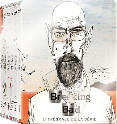 Breaking Bad: The Complete Series - Limited Edition Steelbook [Blu-ray] New!!