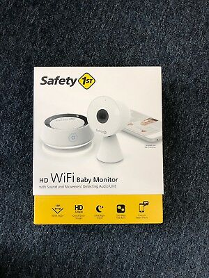 Safety 1st HD WiFi Streaming Baby Monitor Camera With Audio New!!!