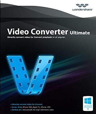 WONDERSHARE VIDEO CONVERTER ULTIMATE - 10.4.1 LATEST VERSION - ✔Lifetime License