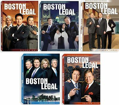 Boston Legal: Season 1-5 Complete Collection [DVD] New and Factory Sealed!!