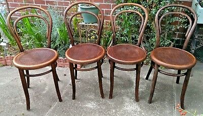 4 6 or 8 Mundus Khon Thonet Bentwood Dining Cafe Chairs DELIVERY POSSIBLE