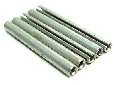 "5 PACK! NEW! 420 S.S. Slotted Roll Spring Pin 5/16"" Wide x 3"" Long STAINLESS NH"