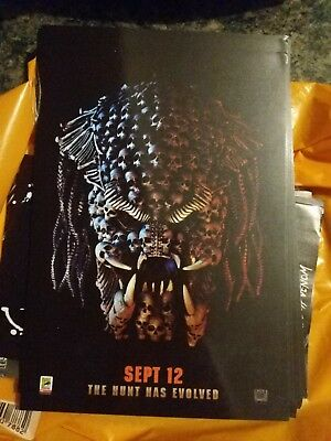 The Predator ODEON A4 Sized Glossy Poster - Comic Con International free postage