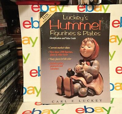 Luckey's Hummel Figurines and Plates Prices Luckey 1997 Hardcover; Free Shipping