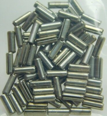 "(100-Pk) 420 Stainless Steel Slotted Roll Spring Pin 1/16"" Dia x 3/16"" Length NH"