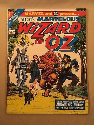 1975 MGM's Marvelous WIZARD OF OZ Marvel Treasury Edition