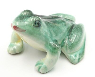 Vintage Ceramic Hollow Frog Statue For your Planter or Garden