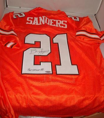 fa674500215 Barry Sanders signed Oklahoma State jersey - TriStar Authentic - Heisman  Winner