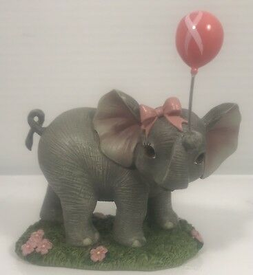 """NEW Hamilton Collection Hand-painted Elephant Figurine """"Hope Is So Uplifting"""""""