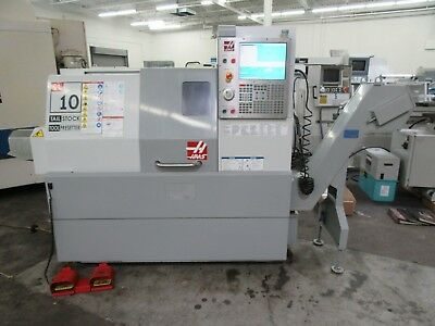 Haas SL-10 CNC Turning Center with Tailstock and Chip Conveyor