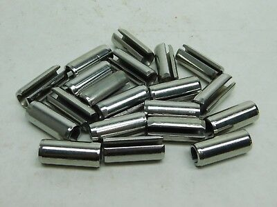 "10 PACK! 420 Stainless Slotted Roll Spring Pin, 1/2"" Dia x 1 1/4"" Length NH"