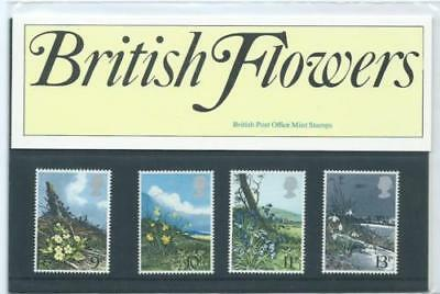 GB 1979 British Flowers Presentation Pack VGC. Stamps. Free postage!!