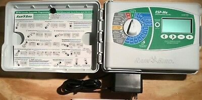 RAIN BIRD ESP Me, Rainbird esp, Sprinkler Controller 7-22 zones, power  supply
