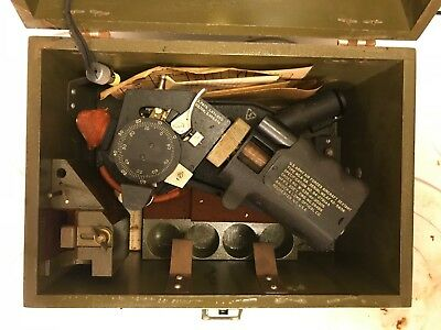 US Army Air Forces Aircraft Sextant Type No A-8A
