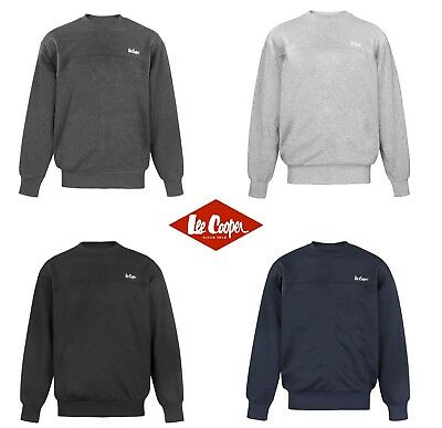 LEE COOPER HOMMES Col Rond Pull Sweat Léger Manches Longues Sport ... 4faa5a275ef