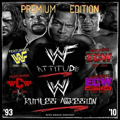 "WWF/WWE ""Attitude & Ruthless Aggression Era"" Full Episode Collection (1997-2007)"