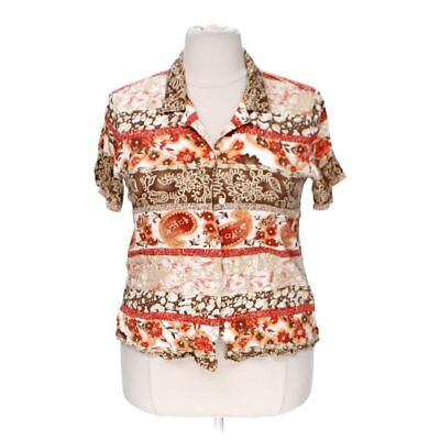 8a39f7f9ade ALFRED DUNNER WOMEN S Patterned Button-up Shirt