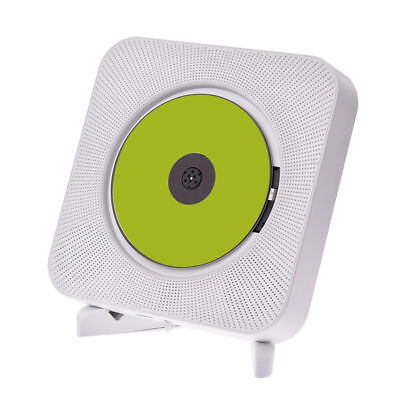 Portable CD Player Wall Mountable Bluetooth Boombox Home Audio with Remote wk