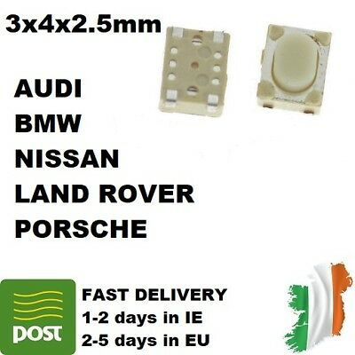 3/10pcs micro switch button to remote key NISSAN AUDI BMW LAND ROVER PORSCHE
