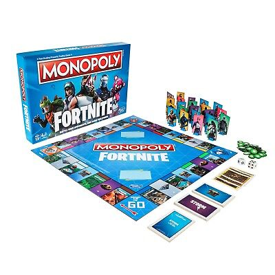 Monopoly: Edition Board Game Inspired by Fortnite Video Game Ages 13 and Up