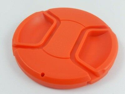 Lens Cap 72mm -red- for Canon EF-S 15-85mm 3,5-5,6 IS USM