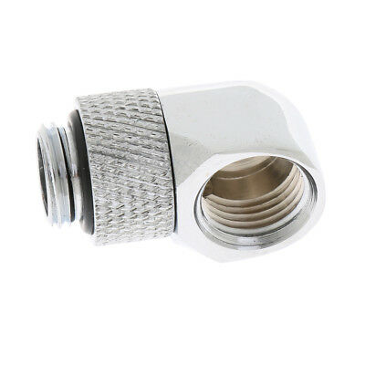 G1/4'' 90° ROTATING Joint Elbow Water Cooling Fitting Connector Rotary