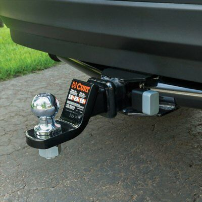 CURT 23021 Waterproof Ball Trailer Hitch Receiver Lock New Fast, Free shipping!