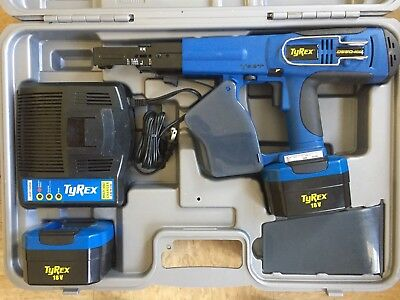 TyRex D550-18V Auto-Feed Cordless Screwdriver - Incl. Case/charger/battery