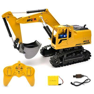 Wireless Remote Control RC Excavator Tractor Vehicle Truck Toy Digger Car Model