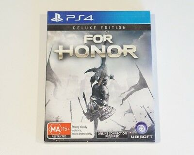 For Honor Deluxe Edition PS4 - Playstation 4 *AUSTRALIAN SELLER*