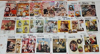 U PICK! ~ BUNNY RABBIT & CLOTHES ~ EASTER Sew Craft Quilt Pattern UC