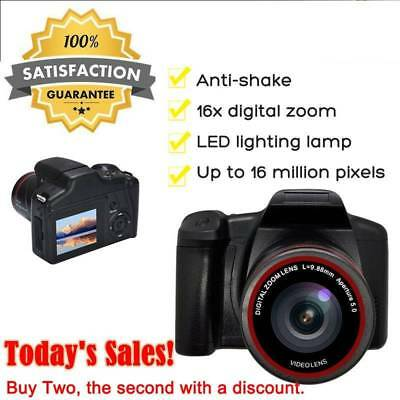16MP 1080P 16X Zoom 3Inch TFT Screen Anti-shake Digital SLR Camera with Built