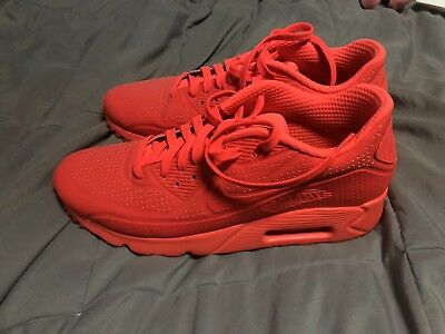 35b0d6eb1679 ... free shipping lightly worn nike air max 90 ultra moire neon red us mens  size 10