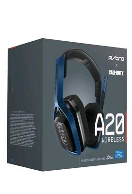BRAND NEW Astro Gaming A20 Call Of Duty Wireless Gaming Headset PS4/PC/Mac Navy