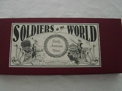 Soldiers of the World North American Indians Made New Zealand New Britains F-SHP