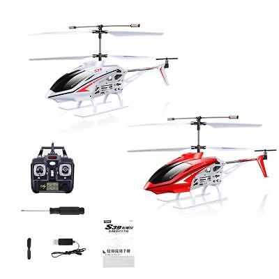SYMA S39 2.4GHz 3CH RC Helicopter with Gyro Led Flashing Aluminum Anti-Shock Toy