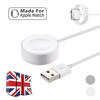 For Apple Watch iWatch 4/3/2/1 Magnetic Charger Charging Pad Cable 38mm&42mm 3ft