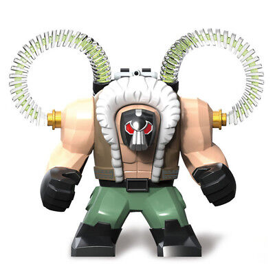 Marvel Super Heroes Bane Mini Figure Avengers,Spiderman,Batman,Robin Fit lego
