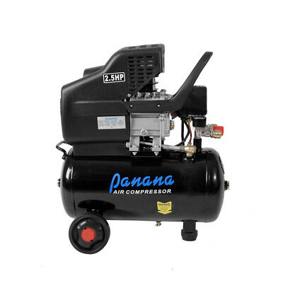 220V 24 Litre Air Compressor 9.6CFM 2.5HP Engine 24L Air Tank CE Rated UK Stock
