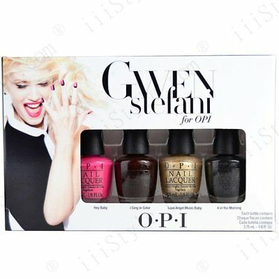 OPI Nail Lacquer Gwen Stefani Rock Starlets Mini Collection 3.75ml x 4pcs
