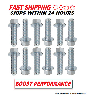 EXHAUST MANIFOLD HEADER Hardened Stainless Steel Bolts For Ford F150