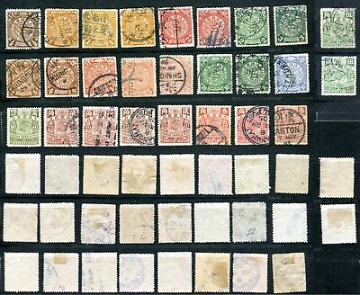 CHINA Chinese Imperail Post small collection Drachen Dragon 1 ohne Überdruck