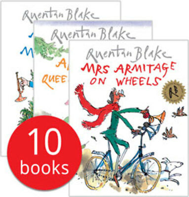 Quentin Blake Collection - 10 Books