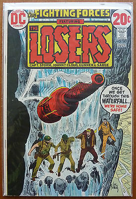 Our Fighting Forces #143..kanigher/severin..dc Bronze Age 1973..fn..the Losers