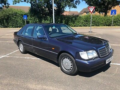 """Mercedes S500 """"Low Mileage"""" 1995 classic prestige investment for a collector"""