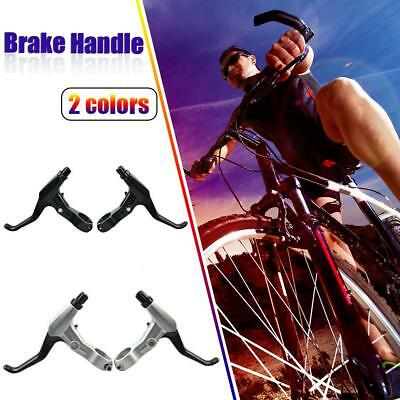 1 Pair Aluminum Alloy Brake Lever Road Bicycle Handle Folding MTB Bike Cycling