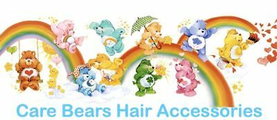Care Bears Vintage 1986 Hair Accessories (french packaging) Pick Your Favourites