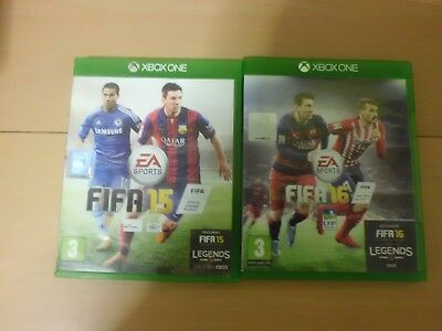 Lotto 2 giochi XBOX ONE - FIFA 15 ET 16