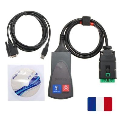 Diagnostic Interface Diagbox Scanner V7.83 PP2000 Lexia 3 for Citroen Peugeot